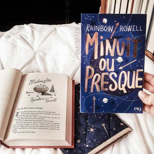 Minuit ou presque de Rainbow Rowell éditions Pocket Jeunesse PKJ