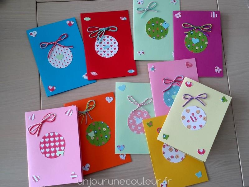 je t invite a mon anniversaire diy cartes d invitation colorees un jour une couleur
