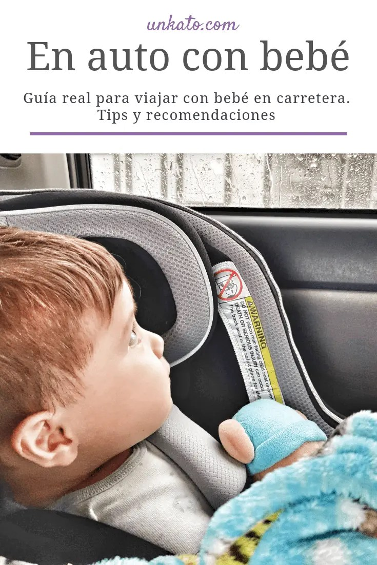 en auto con bebé unkato.com