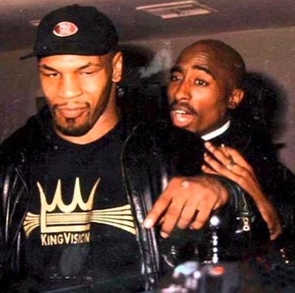 MikecTson and Tupac Shakur