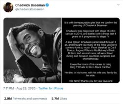Most Liked Tweets: top 3 tweets featuring Chadwick Boseman, Barack Obama, BTS and Donald Trump
