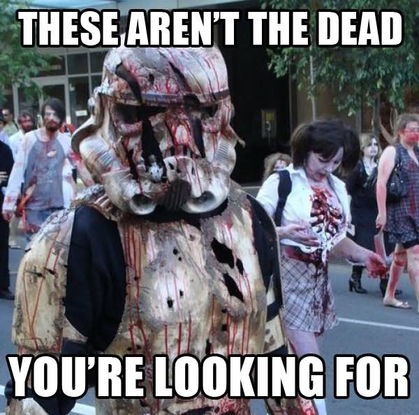 these arent the dead funny funny zombie stormtooper meme picture139855863464808416