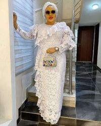 8 White Lace Dress Styles Nigerian, Ankara Designs and other beautiful dresses (video)