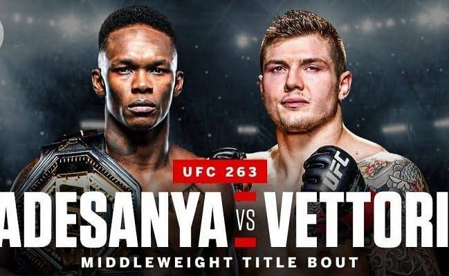 Read more about the article 'And still the Champion!' Israel Adesanya retains his belt as he defeats Marvin Vettori at UFC 263 (videos)