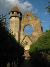 Cârța Cistercian Abbey Entrance View