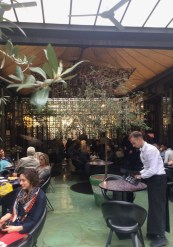 Garden interior at 10 Corso Como in Milan