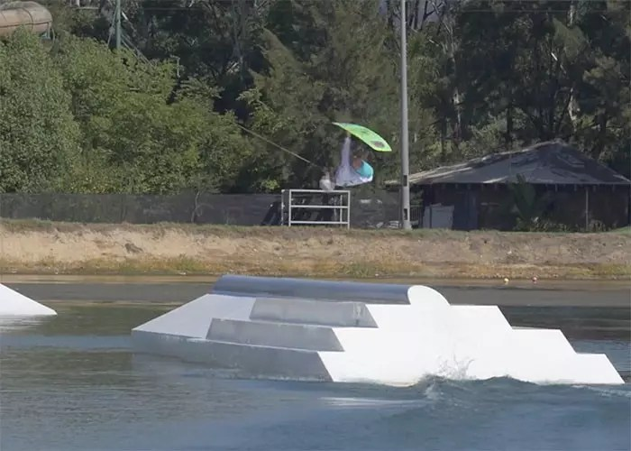 Alex Aulbach at Perth Wake Park