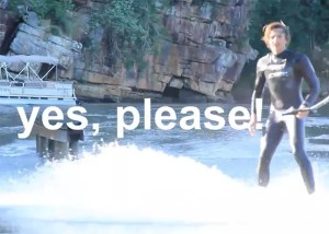 Yes, Please! by riders from The South African Wakeskate Tour