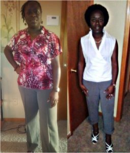 arnescia LOST 43 LBS IN SIX WEEKS