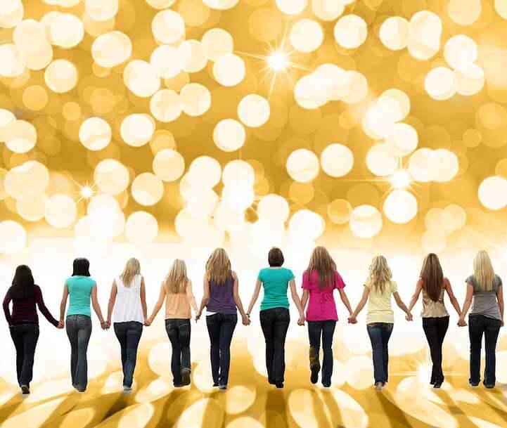 join the sisterhood of strong women