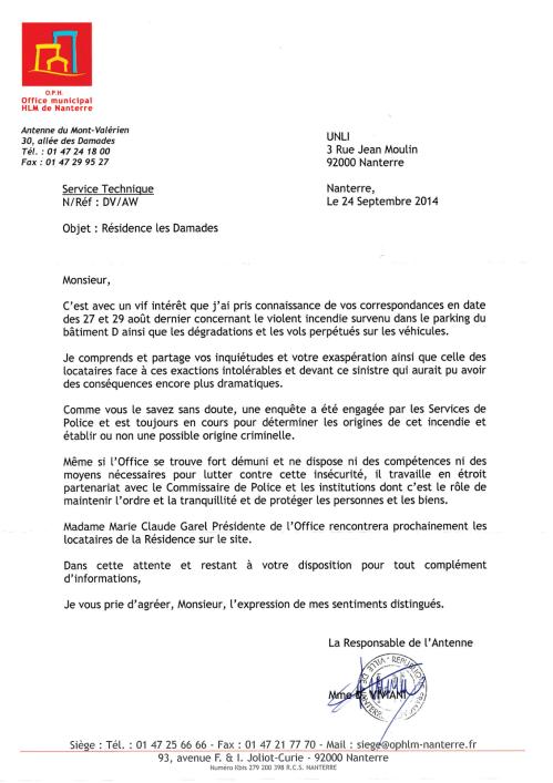 14-12&15 - Problèmes et Incendie aux Damades (Réponse Mont-Valérien)