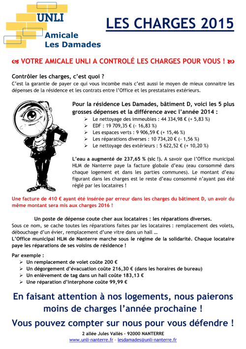 Tract 2015 - Les Damades D