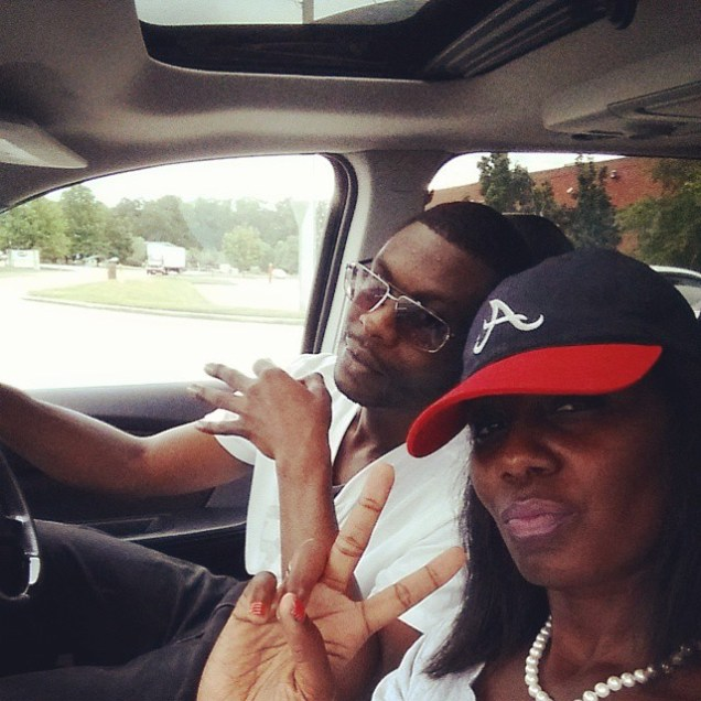 Peace up. ATL down. bound