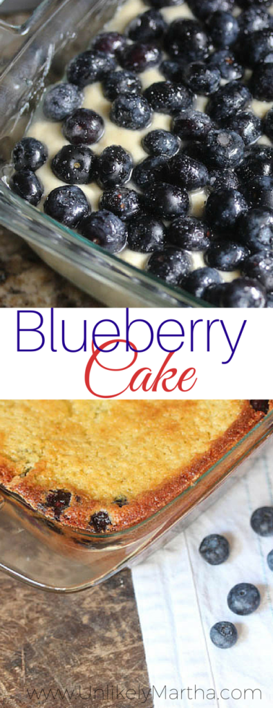 blueberry morning cake