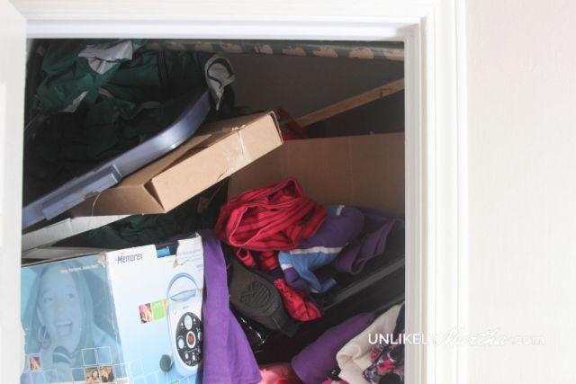 Mud Room closet