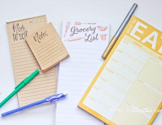 List Planning