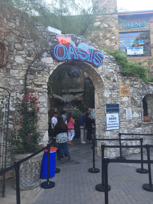 The oasis in Austin Texas
