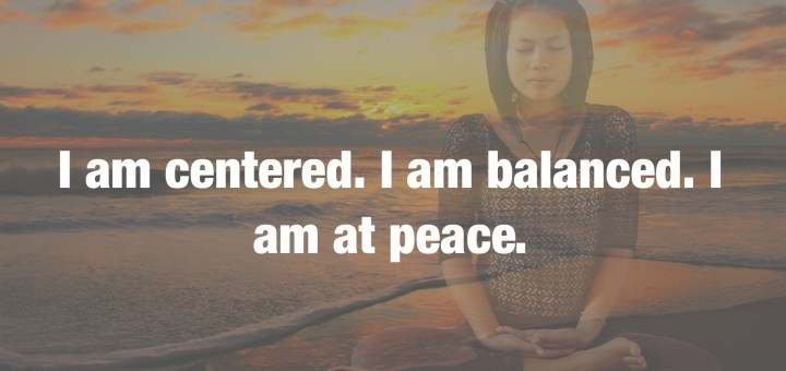 Being Centered