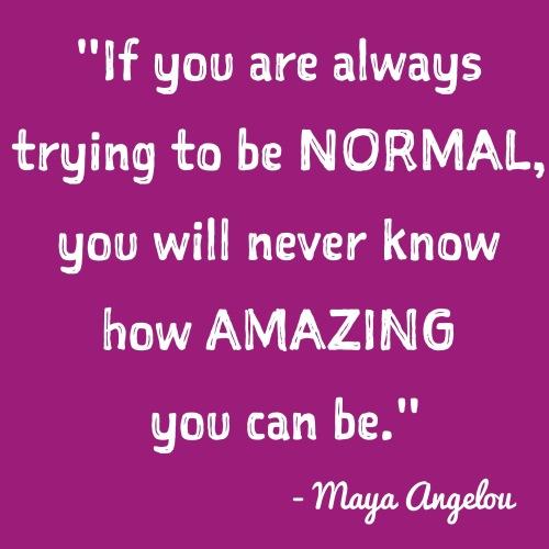 Maya Angelou Inspirational Quote