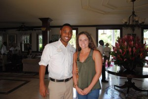 Sandals Royal Caribbean Jessica & O'Brian Gordon, Sales Manager
