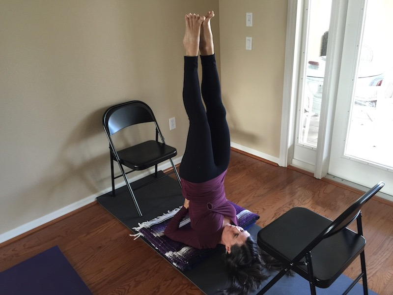 How To Heal Your Thyroid Naturally With Yoga Shoulderstand