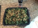 """Kale Chips with Nutritional Yeast """