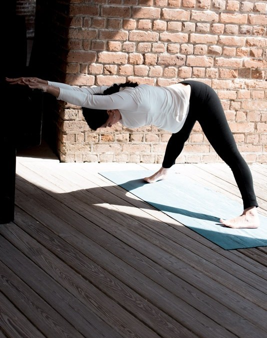 Wide Leg Forward Fold: Lengthen Your Spine to Release Pain, Stress and Compression