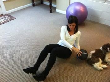 Medicine Ball Twist