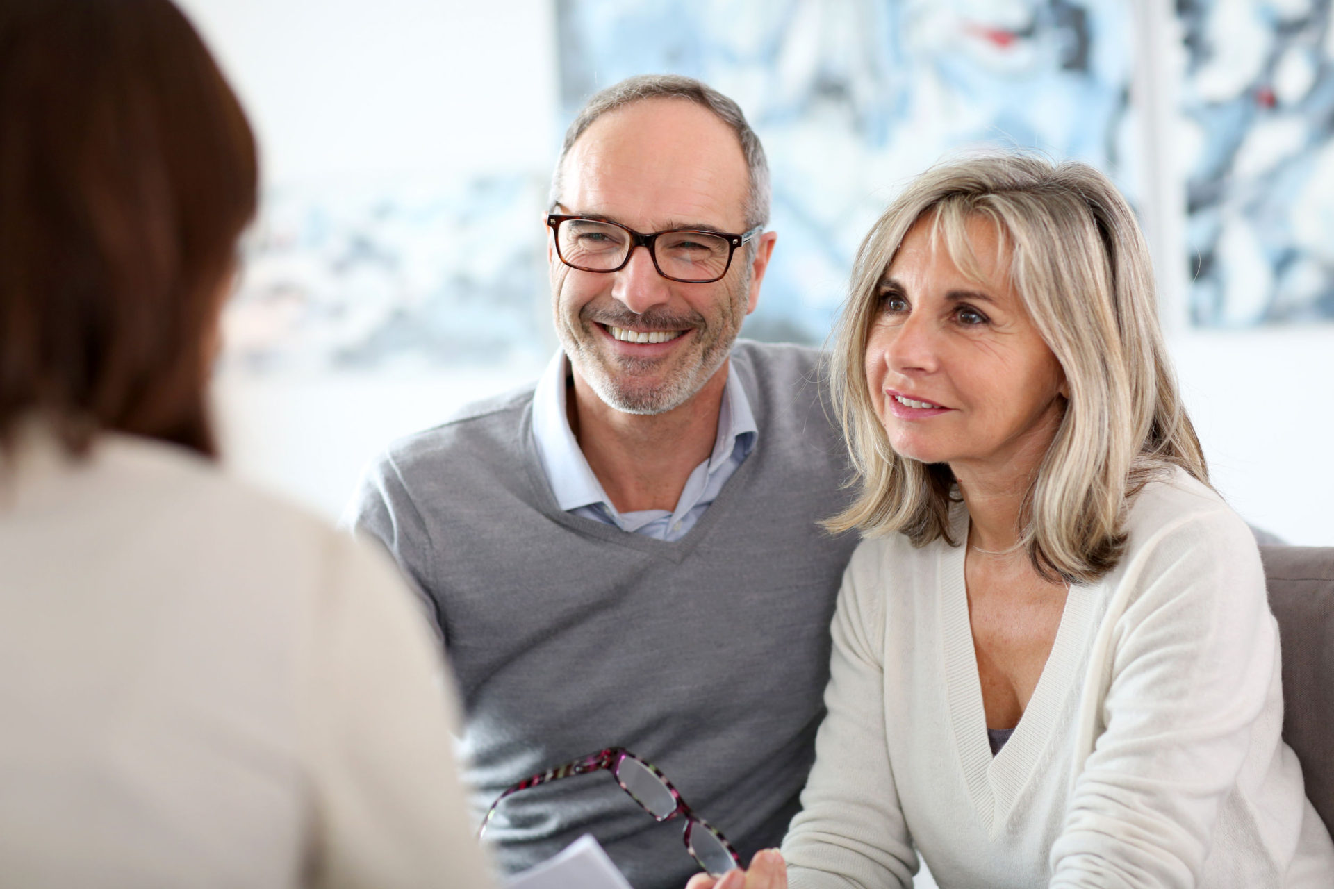 24141126 - senior couple meeting financial adviser for investment