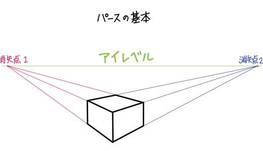 イラスト初心者向け【パースの基本】カンタンに解説