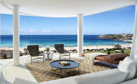 Ultimate penthouse overlooking Bondi Beach