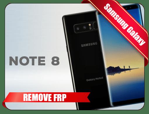 Samsung Note 8 FRP Unlock Service SM N950 Tool
