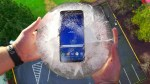 Can Galaxy S8 Frozen in Ice Block Survive 100 FT Drop Test?