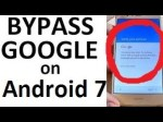 Bypass FRP Google Account Android 7 by TalkBack Way 100%