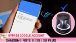 How To Bypass Google Account Samsung S8| S8 plus| Note 8 All Samsung Devices Android 7.x.x