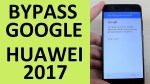 BYPASS GOOGLE Account Huawei P10   2017 Android Nougat 7.0