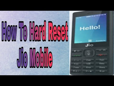 How To Hard Reset Jio Phone | Jio Mobile Phone | Jio Phone Ko Reset Kaise Kare