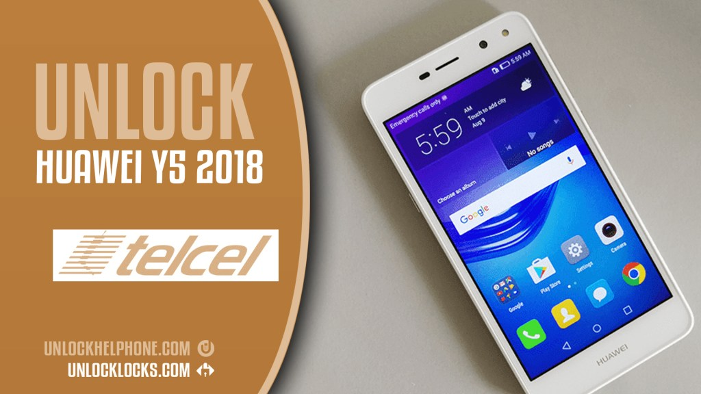 How to Unlock Huawei Y5 2018 (DRA-LX3) ? | Telcel Mexico