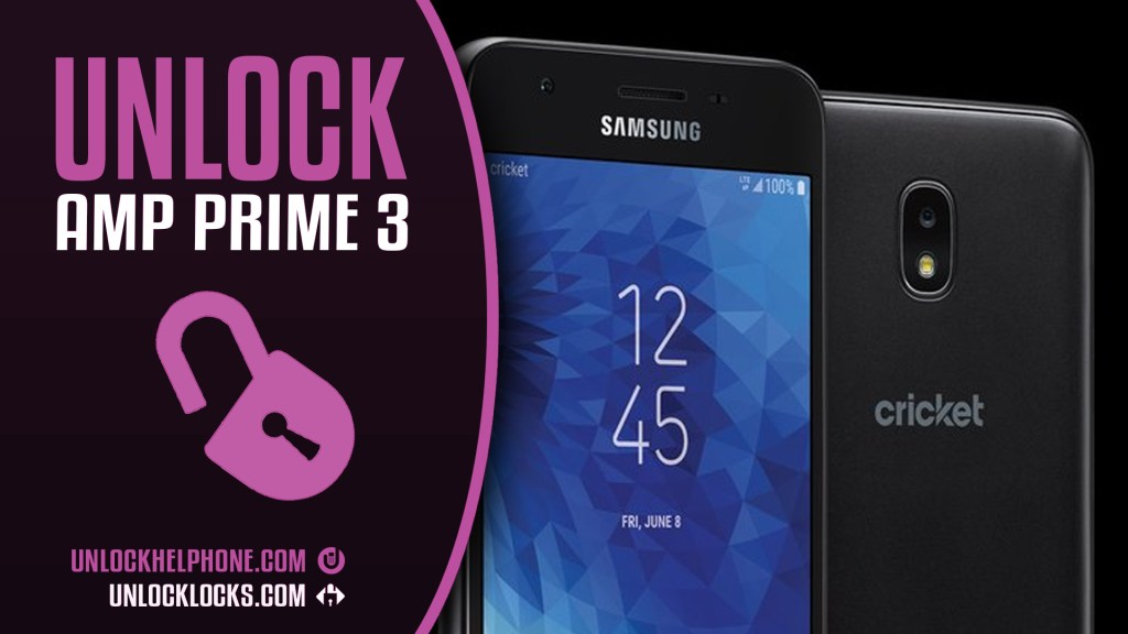 unlock code for cricket galaxy amp prime