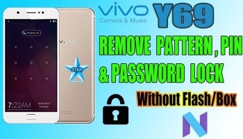 Vivo Y69 (1714) Remove Screen Lock (Reset Pattern ,Pin