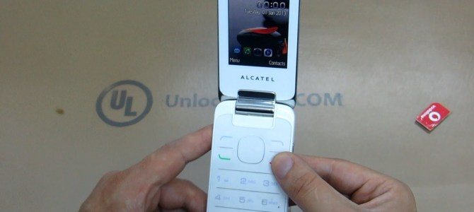 How To Unlock Alcatel One Touch 20.50 (OT-2050, OT-2050A, OT-2050X and OT-2050D) by unlock code.