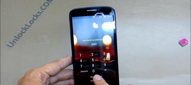 How To Unlock Alcatel One Touch Fierce 2 (OT-7040T and OT-7040N) by Unlock Code.