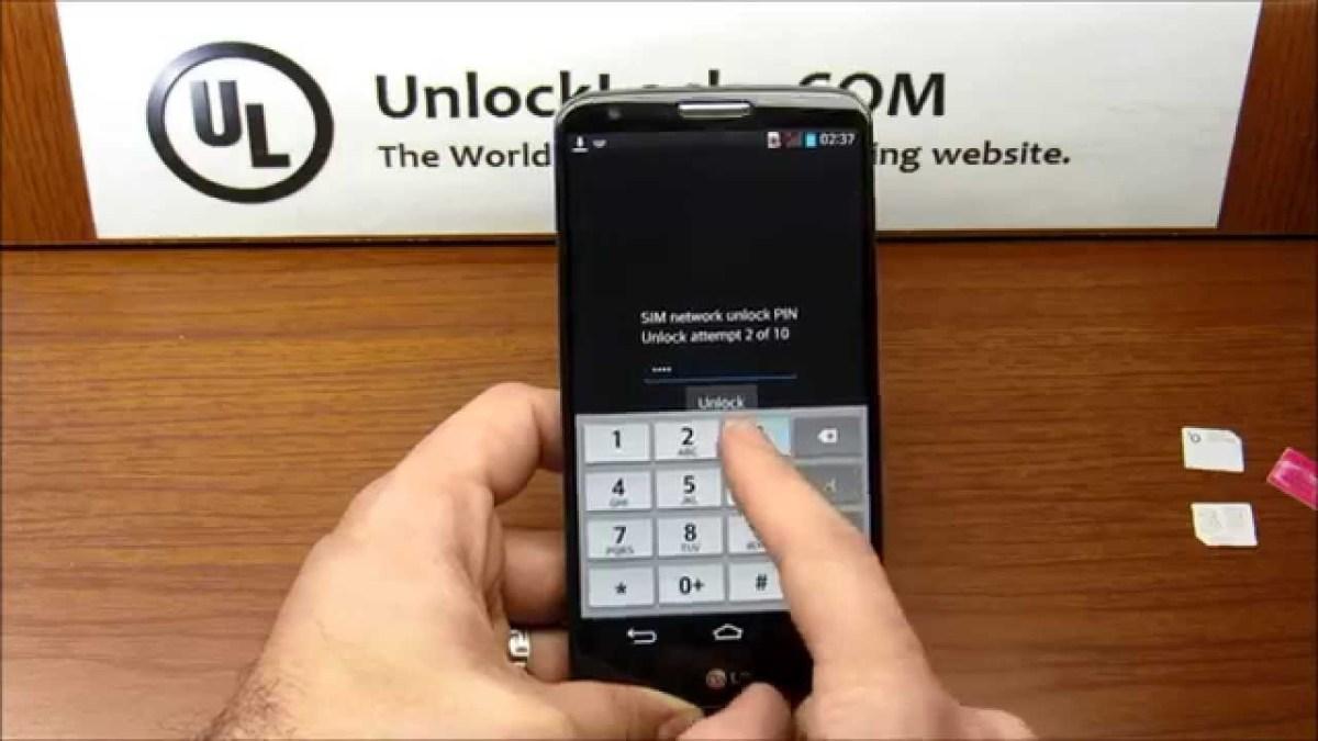 Lg d959 unlock