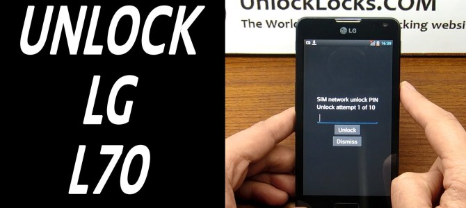 How To Unlock LG L70 (D320, D321, D320N, D320F, D325 and MS323) by unlock code.