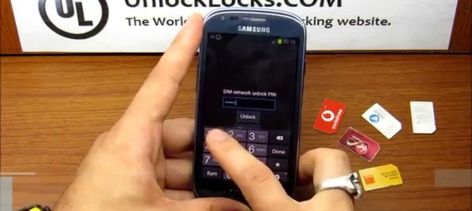 How To Unlock Samsung Galaxy S3 Mini By Unlock Code ?