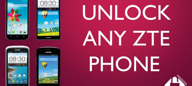 How To Unlock Cricket Wireless ZTE Fanfare by Unlock Code.