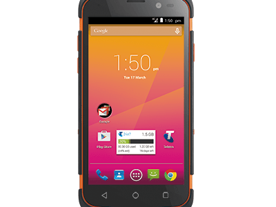 How To Unlock ZTE T84 (Telstra Tough Max) by Unlock Code.