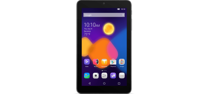 How To Unlock ALCATEL OneTouch PIXI 3 7″ (9002) Tablet by Unlock Code.