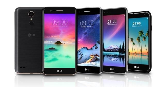 LG K3 2017, K4 2017, K8 2017 and K10 2017