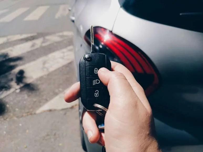 Car key range